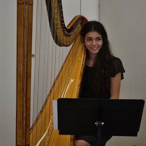 Beatriz Cortesão harpa