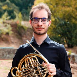 Cristiano Pinho, trompista natural do concelho de Santa Maria da Feira