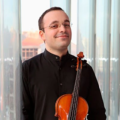 Vítor Vieira violinista