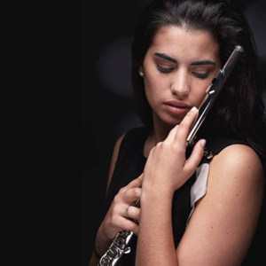 Flautista Ana Ferraz
