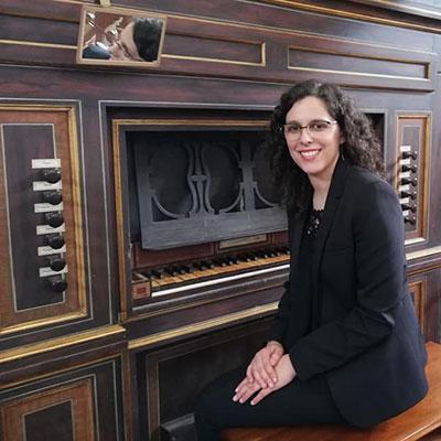 Inês Machado, organista natural de Fátima