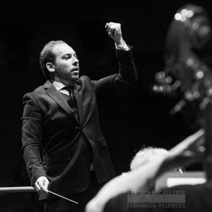 Maestro José Eduardo Gomes no Teatro Micaelense em 2019