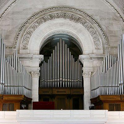 Grande órgão da Basílica de Fátima (antigo)
