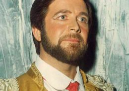 "José de Freitas em novembro de 1982, no papel de Escamillo, da ópera ""Carmen"", de Bizet, no Teatro Rivoli (Porto)"
