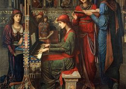 Saint Cecilia, John Melhuis Strudwick
