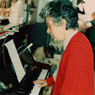 Elvira de Freitas, compositora natural de Lisboa