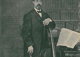 violoncelista Guilherme Cossoul