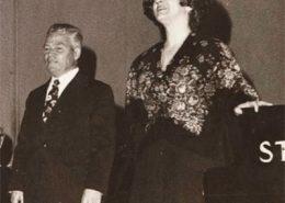 Manuela Araújo com Gunther Arglebe