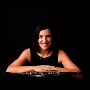 Cândida Oliveira, clarinetista, de Paços de Ferreira
