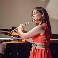 Sofia Silva flautista