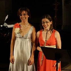 Sofia Silva com Margarida Prates