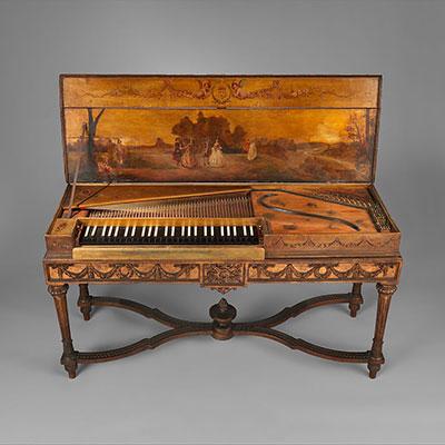 Clavichord, The Metropolitan Museum of Art, Boston