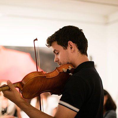 violinista Pedro Lopes