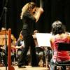 Lúcia Duarte maestrina e saxofonista