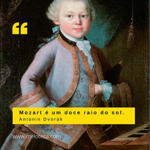 Mozart na perspetiva de Dvorak