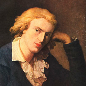 Friedrich Schiller por Anton Graff