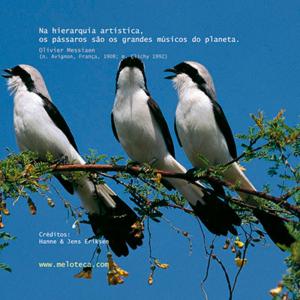 Olivier Messiaen e os pássaros