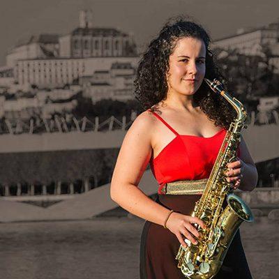 saxofonista Diana Matias