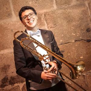 trombonista Joaquim Oliveira