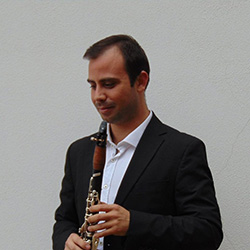 clarinetista Pedro Ralo