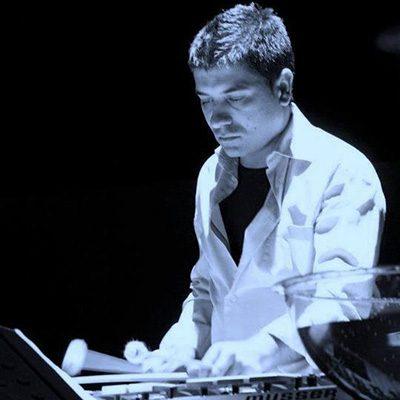 percussionista Ricardo Monteiro