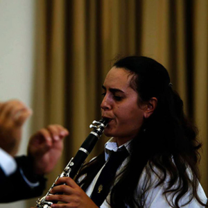 clarinetista Luciana Guimarães