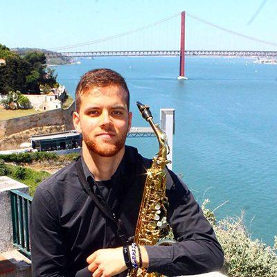 saxofonista João Carvalho