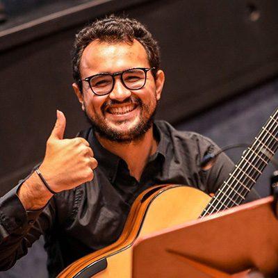 guitarrista Filipe Neves Curral