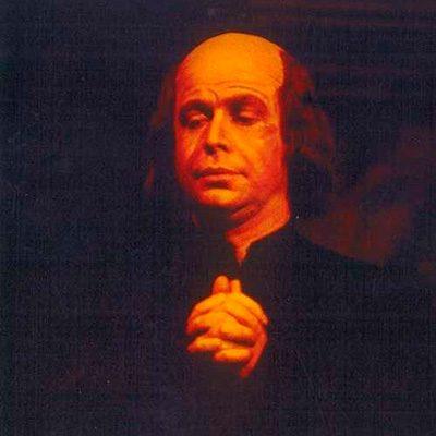 José de Freitas no papel de Il Sagrestano na Tosca