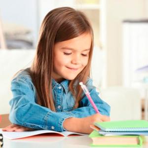 Criança a estudar, foto DN Life