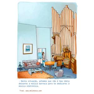 Música barroca e música eletrónica