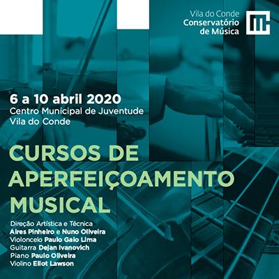 Cursos de Aperfeiçoamento Musical em Vila do Conde