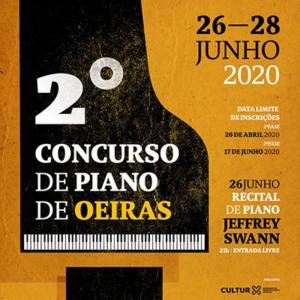 2º Concurso de Piano de Oeiras 2020