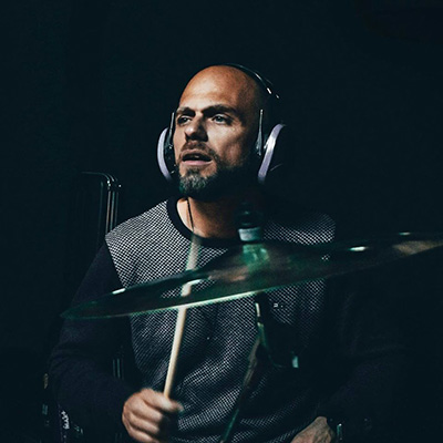 percussionista e baterista Rui Rodrigues