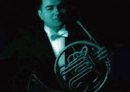 Adácio Pestana, trompista e compositor