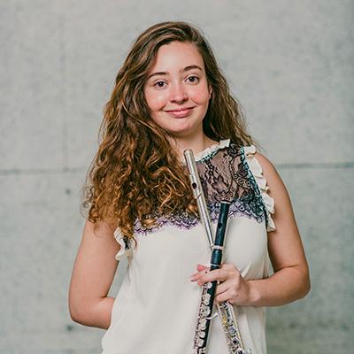 Adriana Marquez, flauta transversal e flautim