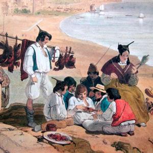 Grupo de vilões em Santa Catarina, Andrew Picken, 1840
