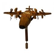 Castanhola da Tabua em forma de avião