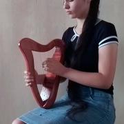 Harpa celta de 12 cordas