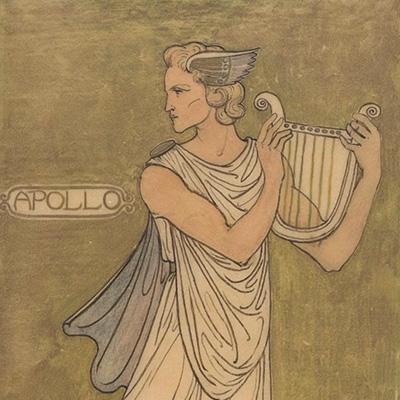 Lyre (lira), Apolo