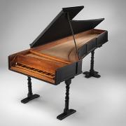 Piano Bartolomeo Cristofori, de Florença, no The Met Museum