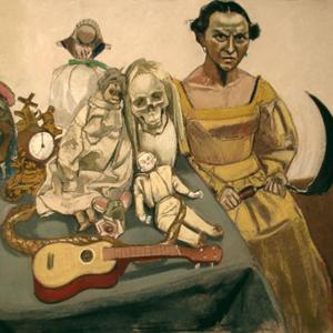Cavaquinho - O Tríptico Vanitas III, de Paula Rego