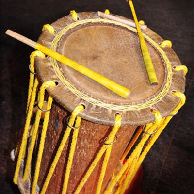 Chande, tambor, Índia