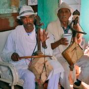 Chirawata, cordofone de arco da Etiópia e Eritreia
