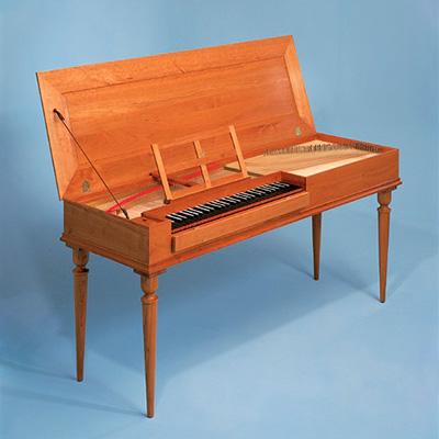 Clavichord, instrumento de tecla percutida
