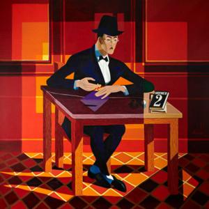 Retrato de Fernando Pessoa por Almada Negreiros