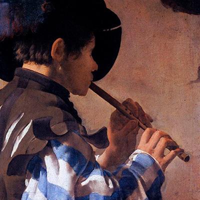 Fife, Hendrick ter Brugghen, Boy playing a fife