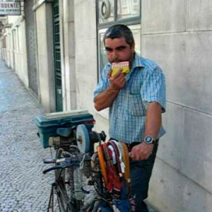 Flauta de amolador, siringa, Portugal