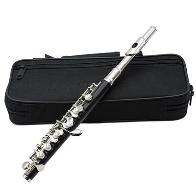 Flauta piccolo, sopro de madeira