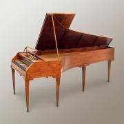 Fortepiano, cordofone de tecla, Edwin Beunk Colection, Países Baixos